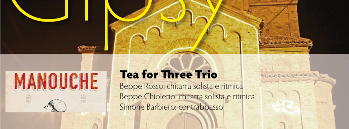 Tea for Three Trio & Double Scotch Trio